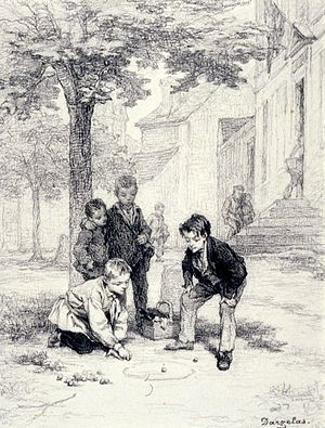 André-Henri Dargelas - Boys Playing Marbles - Walters 371636.jpg