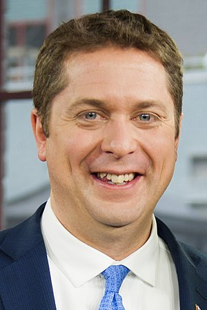 43rd Canadian federal election - Image: Andrew Scheer June 2017 Crop