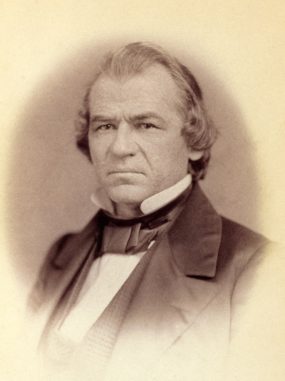 Andrew Johnson by Vannerson, 1859