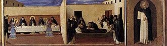 Cortona Triptych - Image: Angelico, cortona poliptych, predella 05