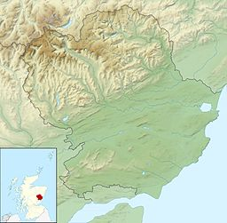 Angus UK relief location map.jpg