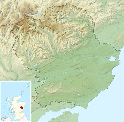 Location map Scotland Angus