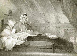 Anthony Cardon - Ann Moore of Tutbury, 1812 engraving by Anthony Cardon