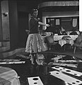 Annie Cordy repeteert in Cinetone studio . Tijdens de repetitie, Bestanddeelnr 913-0764.jpg