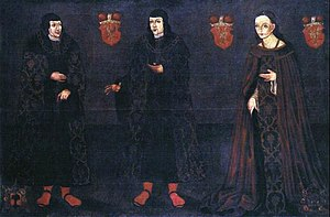 Janusz III of Masovia - Last of the Masovian Piasts (from left to right): Janusz III (1503-1526), Stanisław (1500-1524) and Anna (1498-1557).