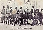 Antep'te Fransız subay ve Türk esirler