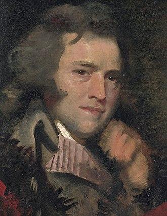 John Williams (satirist) - Anthony Pasquin (Mather Brown, ca 1790)