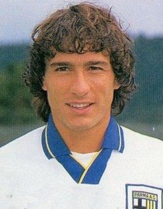 Antonio Benarrivo - Antonio Benarrivo with Parma in 1993.