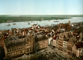 Antwerp and the river Scheldt, photochrom.png