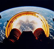 Apollo 6 while dropping the interstage ring