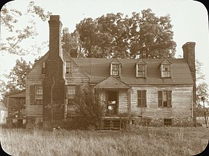 John S. Apperson - Apperson Farm House, New Kent County, Virginia, by Frances Benjamin Johnston, ca. 1930s