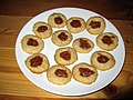 Apple butter thumbprint cookies (6373324787).jpg