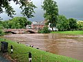 Appleby bridge over swollen River Eden - geograph.org.uk - 960581.jpg