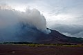 Approaching Mt. Yasur across the ash plains, Tanna, Vanuatu, 12 June 2009 - Flickr - PhillipC.jpg