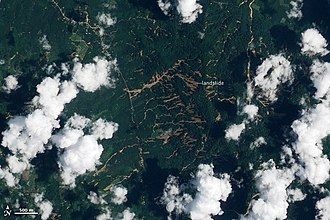 Causes of landslides - Intense rain triggered widespread landslides in southern Thailand during the last week of March 2011.