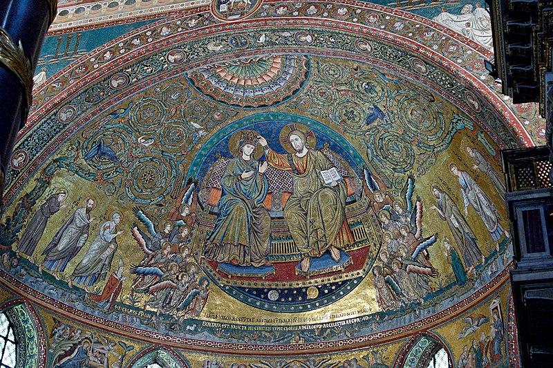 Apse mosaic SM Maggiore
