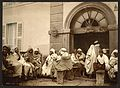 Arabs at a cafe, Algiers, Algeria-LCCN2001697836.jpg