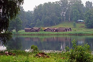 Latgalians - The Āraiši lake dwelling site (Ezerpils).