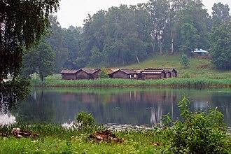 Latgalians - The Āraiši lake dwelling site (Ezerpils)