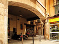 Arc d'en Boquer, a la plaça de la Llana.jpg
