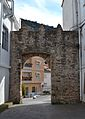Arc del castell per darrere, Almedíxer.JPG