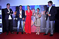 Arjun Rampal, Madhur Bhandarkar, Kareena Kapoor, Divya Dutta, Siddharth Roy Kapur at the First look launch of 'Heroine' 05.jpg