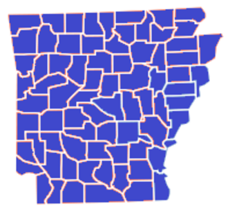 Arkansas Republican primary, 2008 - Image: Arkansas Republican primary, 2008