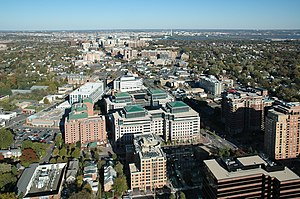 Transit-oriented development - Image: Arlington County Virginia