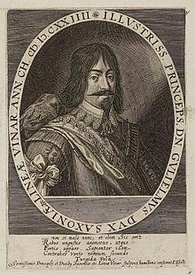 Herzog Wilhelm von Sachsen-Weimar (Quelle: Wikimedia)