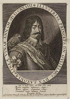 William, Duke of Saxe-Weimar Duke of Saxe-Weimar