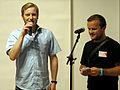 Art-f-air 2012, Messe für zeitgenössische Kunst, Christian Donner und Edin Bajric, Eröffnungsrede zur Vernissage am 19. Oktober.jpg