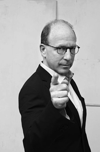 Jerry Saltz - Photo from the Art and Culture Center of Hollywood.