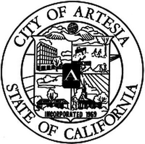 Artesia, California - Image: Artesia california seal