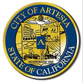 Artesia, California - Image: Artesia california seal