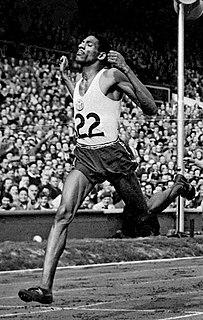 Arthur Wint Jamaican sprinter