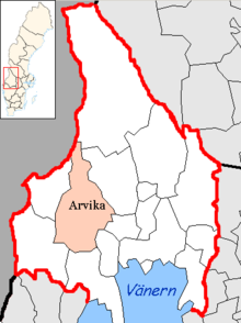 Arvika Municipality in Värmland County.png