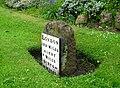 Ashby Road Milestone - geograph.org.uk - 1306814.jpg