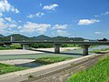 Ashikaga Watarase River Midori Bridge 1.JPG
