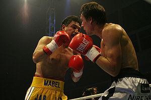 "Professional boxers Luis Ramon ""Yori Boy&..."