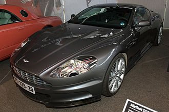 Aston Martin DBS V12 - One of the Aston Martin DBS' used in the James Bond film Casino Royale