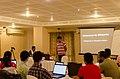 Aswiki2019- Jayanta Nath from CIS explaining about wikisource.jpg