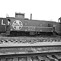 Atchison, Topeka, and Santa Fe, Caboose 999126 (15224274714).jpg