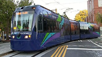 Siemens S70 - Streetcar version of the S70 on the Atlanta Streetcar