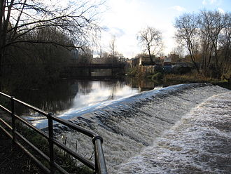 River Don, Yorkshire - Sandersons Weir