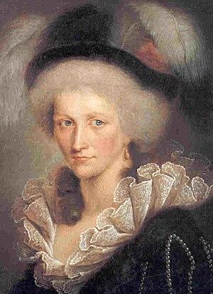 Countess Karoline Ernestine of Erbach-Schönberg - Image: Augusta di Reuss Ebersdorf, duchessa di Sassonia Coburgo Saalfeld