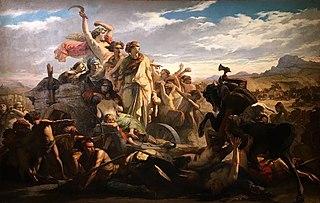 Les Femmes gauloises : épisode de l'invasion romaine