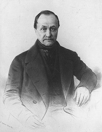 Auguste Comte - Auguste Comte by Tony Touillon
