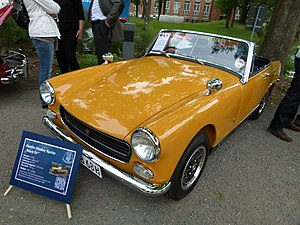 Austin-Healey Sprite - 1970 Austin-Healey Sprite Mark IV with revised grille and cast-alloy wheels