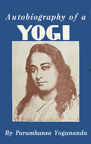 Paramahansa Yogananda - Cover of first edition of Autobiography of a Yogi