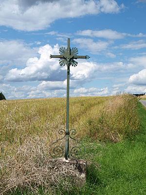 Autry - A Wayside Cross in Autry